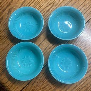 4 fiesta fruit /salsa bowls